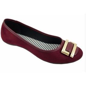 Sapatilha Feminina Moleca Camurça 5291.319 - Maico Shoes