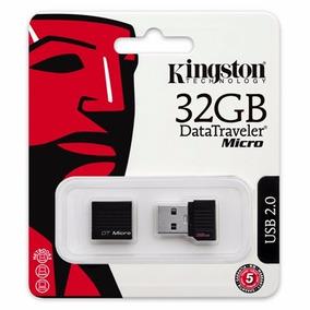 Memoria Usb Kingstone 32gb Datatraveler Micro, Original 100%