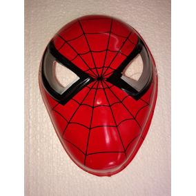 Careta Plastica De Hombre Araña