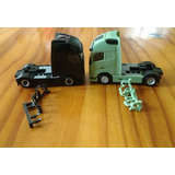 2 Miniaturas Volvo Lx Zm Cavalo Mecanico