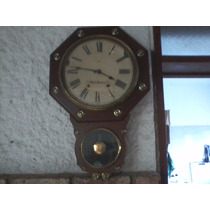 Antiguo Reloj De Pared Marca Setd Tohmas