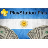 Psn Plus Argentina 1 Año -ps3 Y Ps4- Entrega Inmed. X Mail