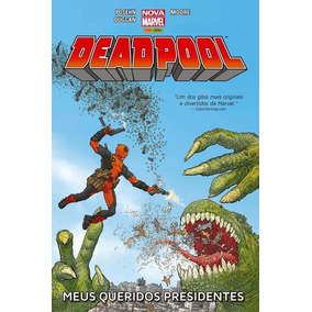 Deadpool Meus Queridos Presidentes Marvel Hq Lacrado
