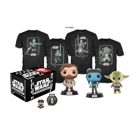 Kit Accesorios Coleccionable Box Star Wars Jedi Medium Funko