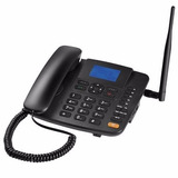 Telefone Celular Fixo Mesa Rural 4 Band 2 Chip 2g Multilaser
