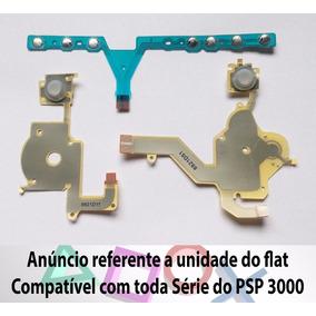 Flat Dos Botões Psp Circuito Manta Flex 1 Pc 3000 3001 3010