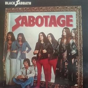 Lp Black Sabbath Sabotage - Novo, Importado.