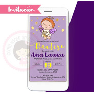 Invitación Digital Bautizo