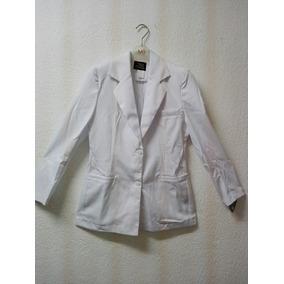 Saco Blanco Para Dama Enfermería