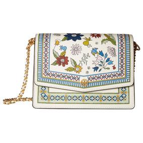 ae79188205d Bolsa Tory Burch Robinson Floral Shoulder Bag B B1-5736