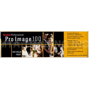 Filme Pro Image 100 Kodak C/ 5 Rolos