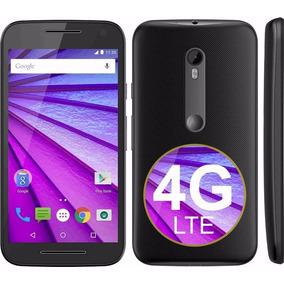 Motorola Moto G3 4g Lte 8gb Libre 13mp Color Negro Y Blanco