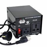 Convertidor Voltaje: Ac 110v/220v , Stu-500,goldsource,negro