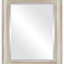 Espejo De Pared Dorset Framed Rectangle In Taupe, 25 X31