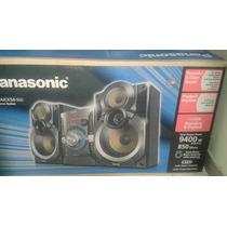 Equipo De Sonido Panasonic Modelo Sc- Akx54