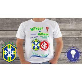 cd4824422a Camiseta S. C. Internacional - Camisetas e Blusas no Mercado Livre ...