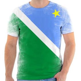 Camiseta, Camisa Estado De Mato Grosso Do Sul Bandeira