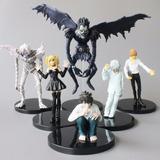 Kit Bonecos Death Note Action Figure 6 Unidades