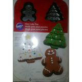 Molde Para Minitortas De Navidad Marca Wilton