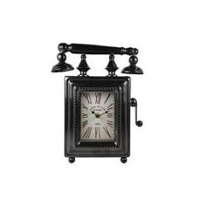 Reloj De Pared Tipo Telefono Antiguo Vintage