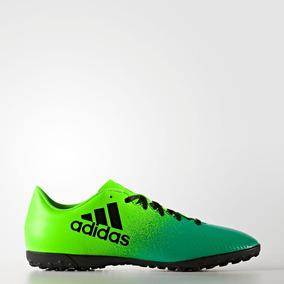 e6e783b18f584 Society Adidas Messi 16.4 - Chuteiras Verde no Mercado Livre Brasil