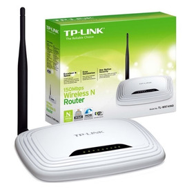 Router Inalambrico Tp-link 150 Mbps 1 Antenas Tl-wr741nd