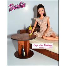 Garrafinha De Bebida P/ Boneca Barbie * Blythe * Rement