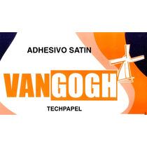 Papel Adhesivo Couche Sticker Satin 100 Hojas Promoción