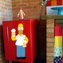 Adesivo Decorativo Homer Simpson Cerveja (051x100)cm