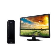 Computadora Pc Escritorio Acer Monitor 4gb 500gb Axc-730-mo