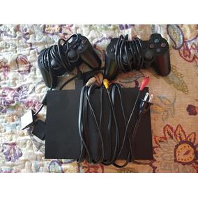Playstation 2 Desbloqueado + 2 Controles E Jogos