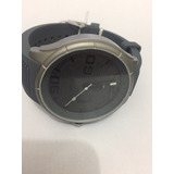 Relógio Tommy Hilfiger Pulseira Silicone Cinza Cx Aço - Usad
