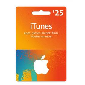 Itune Gift Card De 25 Euros