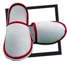 Pantufla Para Sublimar Con Filos De Color