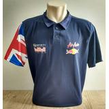 Polo Red Bull Lançamento Especial Gp Fprmula 1 Camisa Nova 665513c4987