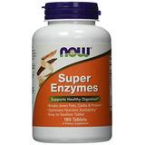 Now Foods Súper Enzimas, 180 Tabletas