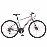 Bicicleta Gt Transeo 6.0 2017 Talle M 28 Gris/rojo El Cerro