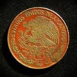 Moneda 20 Centavos 1973 Mula Variedad Icaza Tipo Ii