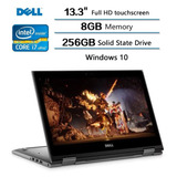 Notebook Ultrabook 2en1 Dell I7 Quad 8°gen 8gb Ssd256 13,3