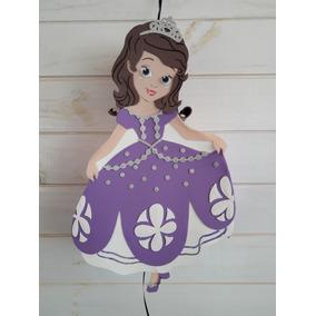 Piñata Princesa Sofia Artesanal En Goma Eva