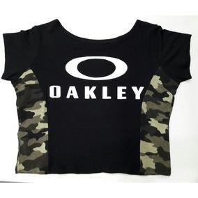 Blusa Oakley Cropped Roupas Femininas