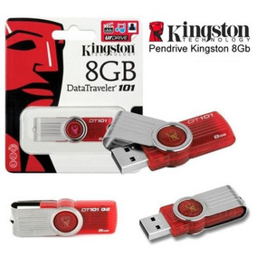 Pendrive Kingston 8 Gb Usb 2.0 Data Traveler 101 Chara