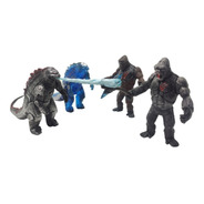 Juguetes Godzilla Vs. Kong King Monarch Figuras Articulables