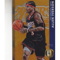 2015-16 Panini Gold Standard Parallel Allen Iverson /79 Sixs
