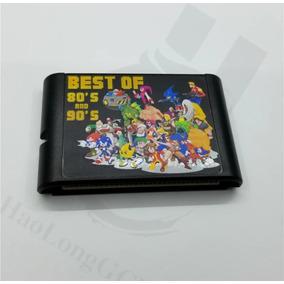 Fita Mega Drive 196 In 1 / 196 Em 1 / 196 Jogos Em Uma Fita.