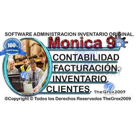 Monica 9 Softwares Completo Español Original Licencia 20pc