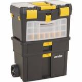 Caixa Plástica Para Ferramentas Com Rodas Crv0100 Vonder