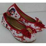 Sapatilha Feminina Ladybug Miraculous Calçado Infantil