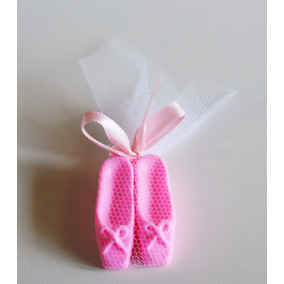 Mini Sapatilhas De Bailarina De Sabonete E Sachê Meninas