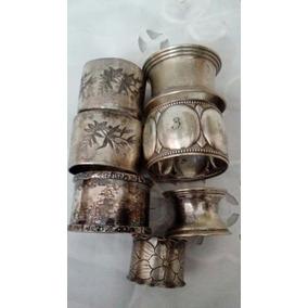 Lote Antiguos Porta Servilletas De Metal